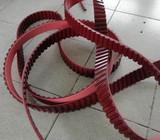AT20红色磨边机同步带